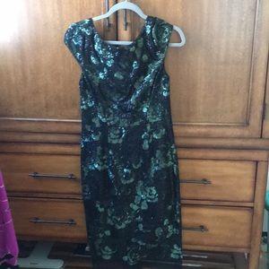 Vera wang even dress